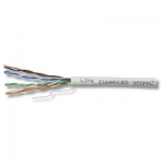 สาย Lan LINK CAT 5E UTP, PE OUTDOOR w/Drop Wire (Single Jacket)