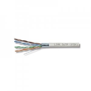 สาย Lan LINK CAT 5E F/UTP Enhanced CABLE (350 MHz), CMR
