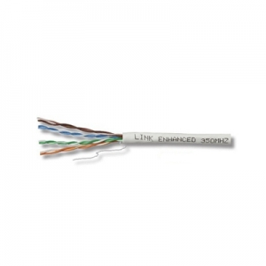สาย Lan LINK CAT6 UTP, PE OUTDOOR w/Cross Filler, 23 AWG (Single Jacket)