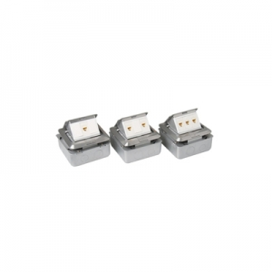 LINK POP-UP Aluminium LINK CAT 6 2 PORT OUTLET