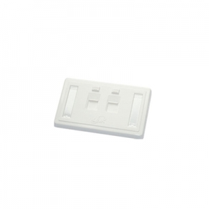 AMP 272378-2 FACE PLATE DECORATOR 2 PORT